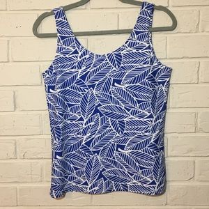 All For Color Tops - 50+ UPF All For Color leaf print tank NWT